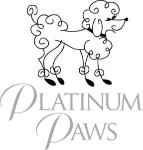 Platinum Paws logo designed by Netta Radice Design, Inc.