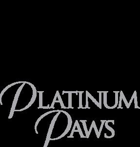 Platinum Paws logo designed by Netta Radice Design, Inc.