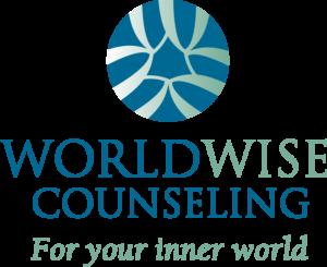WorldWise Counseling logo designed by Netta Radice Design, Inc.