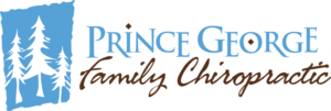 Prince George Family Chiropractic logo designed by Netta Radice Design, Inc.