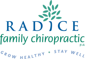 Radice Family Chiropractic logo designed by Netta Radice Design, Inc.