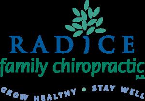 Radice Family Chiropractic logo designed by Netta Radice Design, Inc.