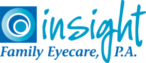 Insight Family Eyecare logo designed by Netta Radice Design, Inc.