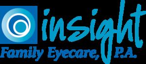 Insight Family Eyecare logo designed by Netta Radice Design, Inc.