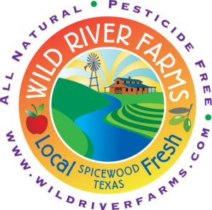 Wild River Farms logo designed by Netta Radice Design, Inc.