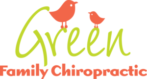 Green Family Chiropractic logo designed by Netta Radice Design, Inc.