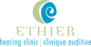 Ethier Hearing Clinic logo designed by Netta Radice Design, Inc.
