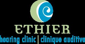 Ethier Hearing Clinic logo designed by Netta Radice Design, Inc.