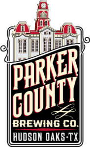 Parker County Brewing Co. logo designed by Netta Radice Design, Inc.