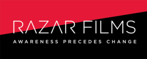 Razar Films logo designed by Netta Radice Design, Inc.