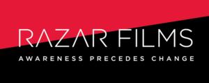 Razar Films logo designed by Netta Radice Design, Inc.