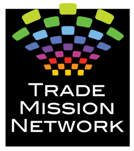 Trade Mission Network logo designed by Netta Radice Design, Inc.