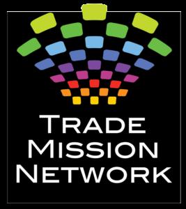 Trade Mission Network logo designed by Netta Radice Design, Inc.