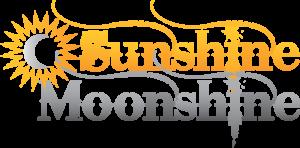 Sunshine Moonshine logo designed by Netta Radice Design, Inc.