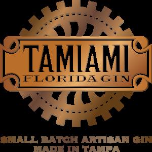 Tamiami Gin logo designed by Netta Radice Design, Inc.