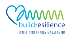 Build Resilience logo designed by Netta Radice Design, Inc.