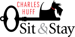 Charles Huff Sit & Stay logo designed by Netta Radice Design, Inc. and Sara Dwyer Design