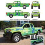 DFWI Downtown Ambassadors logo and truck graphics designed by Netta Radice Design, Inc.