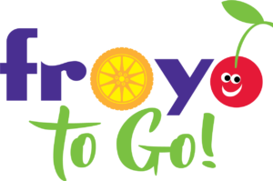 Froyo to Go logo designed by Netta Radice Design, Inc.