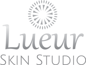 Lueur Skin Studio logo designed by Netta Radice Design, Inc.