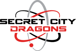 Secret City Dragons logo designed by Netta Radice Design, Inc.