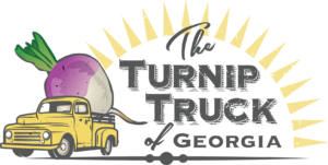 The Turnip Truck of Georgia logo designed by Netta Radice Design, Inc.
