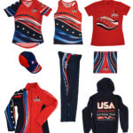 Team USA Dragon Boat 2017 Uniforms designed by Netta Radice Design, Inc.
