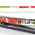 White Claw Dragon Boat designed by Netta Radice Design, Inc.